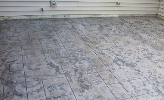 Slate Stained Concrete