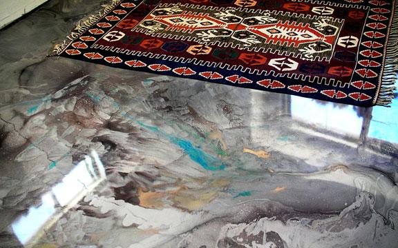 Metallic Epoxy Floor Leesburg